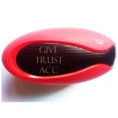 Spek Speaker Bluetooth 7Q7 Model Kerang Stereo Pink