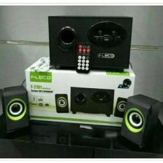 Jual Portable Speaker Aktif Multimedia Usb Speaker Bluetooth Fleco F 2101 Wireless Boombox Musik Original