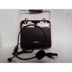 Toko Speaker Bluetooth Fleco Fk06 Mic Ampli Pengeras Suara Radio Fm Fleco Online