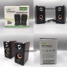 Harga Speaker Komputer F017 Fleco 3Bulan Garansi Terbaru
