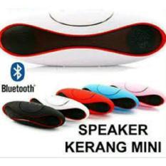 Speaker Bluetooth Portabel Mini For HP Laptop Komputer PC / Model Football / Model Kerang Mutlicolor