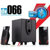 Speaker Dazumba Dw 066 Bluetooth Usb Hitam Original