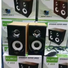 Harga Speaker Fleco F 023 Extra Power Sound Lengkap