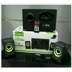 Harga Speaker Fleco F 2101 Wireless Boombox Musik Audio Bluetooth Dan Spesifikasinya