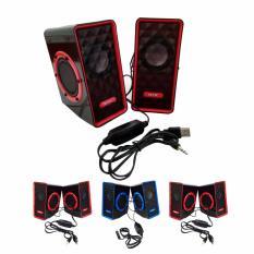Beli Speaker Gaming Nyk Sp N02 Hitam Merah Nyk
