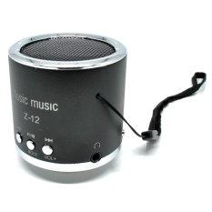Spek Speaker Insert Card Speaker Support Microsd Card Usb Flash Disk Fm Radio Z 12 Hitam