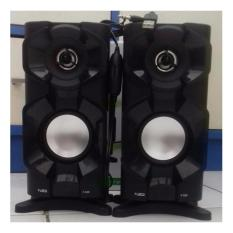 Toko Jual Speaker Komputer Xtra Power Sound Fleco F 026 Hitam Rafly Audio