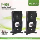 Toko Speaker Mini Mega Bass Fleco F 026 Pc Komputer Hp Tv Lengkap Indonesia