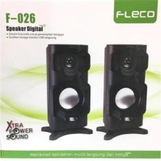 Katalog Speaker Mini Mega Bass Fleco F 026 Pc Komputer Hp Tv Terbaru