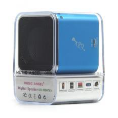 Spesifikasi Speaker Mini Music Angel Md07U Biru Murah