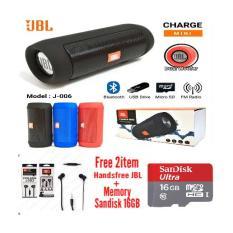 Beli Speaker Portabel Jbl Mini J 006 Bluetooth Wireless Splashproof Gratis Handsfree Jbl Memory 16Gb Warna Random Bbs Murah