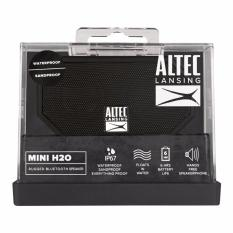 Situs Review Speaker Portable Altec Lansing Imw257 Mini H2O Waterproof Original Black