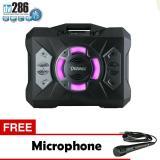 Diskon Produk Speaker Portable Dazumba Dw 286 Superr Bass Bluetooth Karaoke Free Microphone