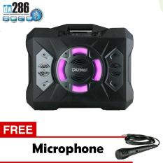 Beli Speaker Portable Dazumba Dw 286 Superr Bass Bluetooth Karaoke Free Microphone Kredit