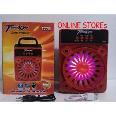 Berapa Harga Speaker Portable Gmc Teckyo 777B Bluetooth Audio Mp3 Fm Radio Usb Player Box Musik Bluetooth Murah Di Banten