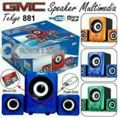 Toko Speaker Teckyo 881 Gmc Murah Usb Micro Sd Teckyo