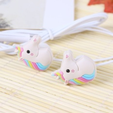Berapa Harga Khusus Unicorn Kartun Earphone S Colorful Rainbow Kuda In Ear Earphone 3 5Mm Earbud Dengan Mic Earphone Mini Untuk Smartphone Intl Di Tiongkok