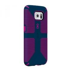 Produk Speck Candyshell Pegangan Case untuk Samsung Galaksi S6 Sisi-Kemasan Ritel-Dalam Laut Biru/Lipstik Merah Muda -Internasional