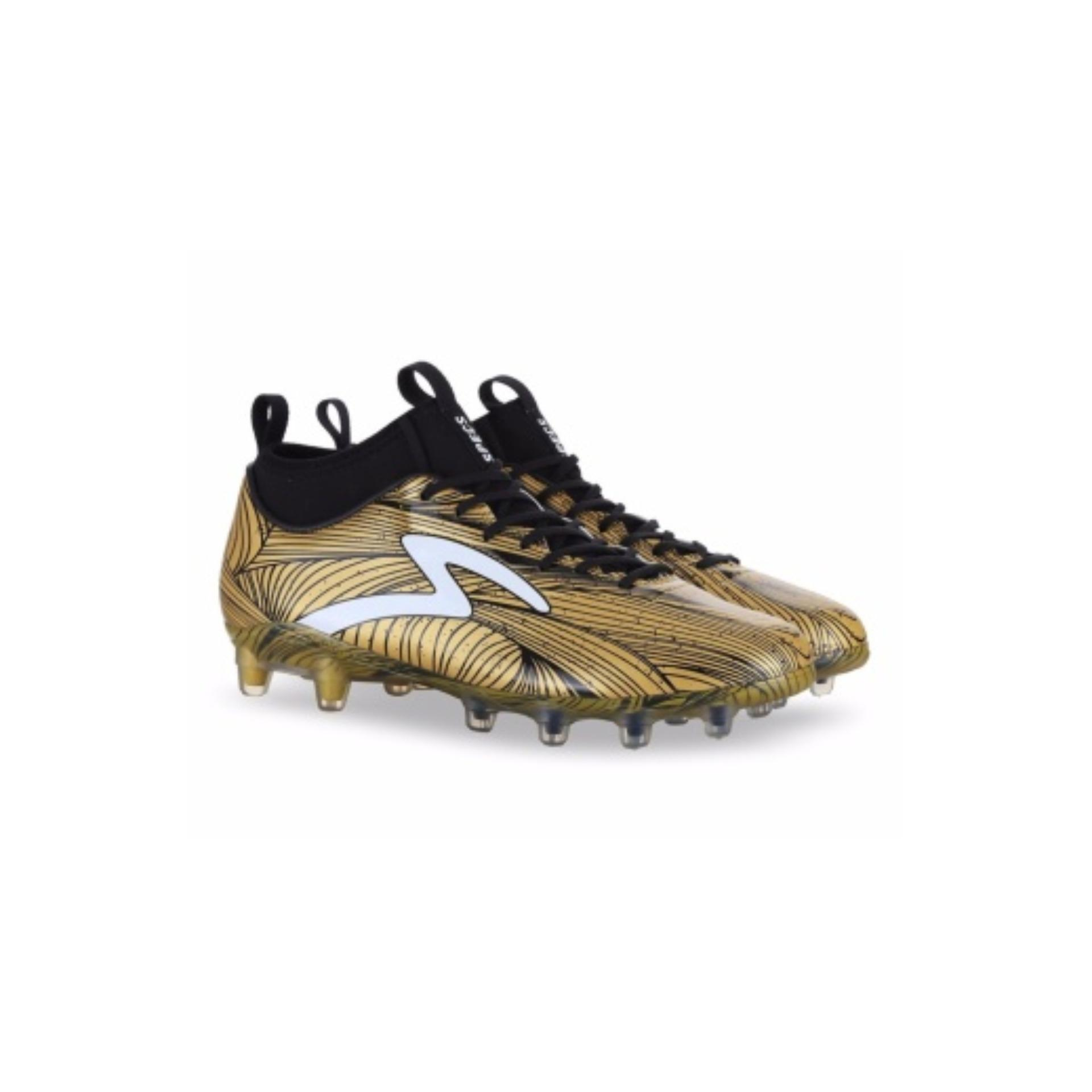 Specs Barricada Ultra Le Gold Black  | Football Shoes