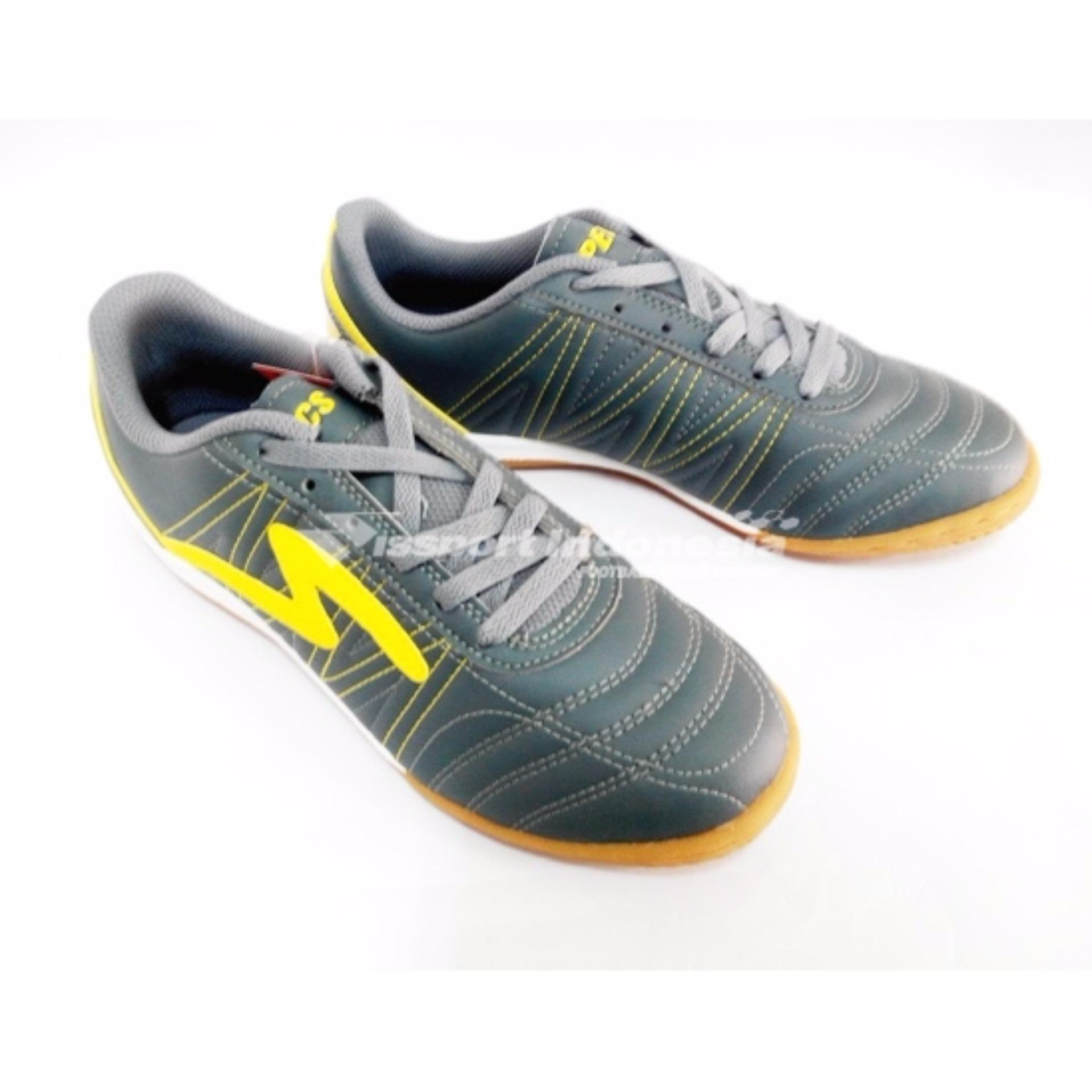 Specs Futsal Horus - Dark Charcoal Yellow