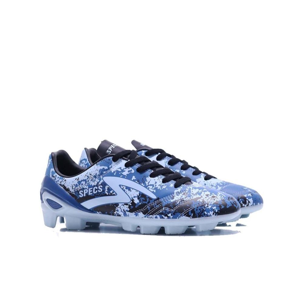 Spek Specs Geronimo Fg Sage Blue Navy Black Sepatu Sepak Bola