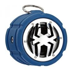 Spider Waterproof Bluetooth Speaker BT802 Biru-Intl