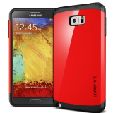 Jual Spigen Case For Samsung Note 5 Red Armor Murah