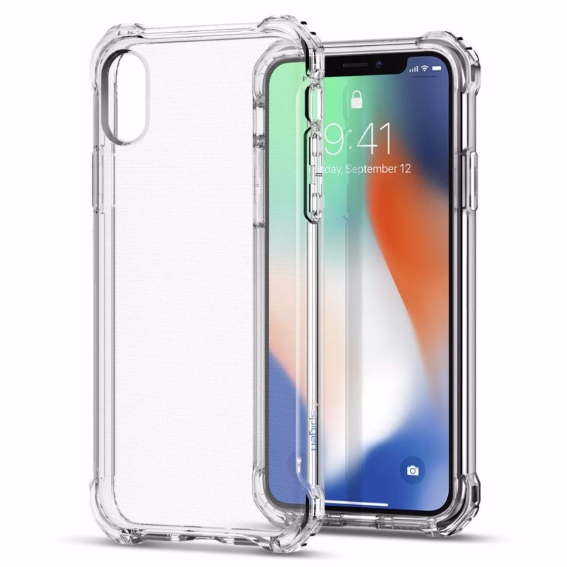 Jual Spigen Iphone X Case Rugged Crystal Clear