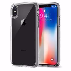 Spesifikasi Spigen Iphone X Case Ultra Hybrid Crystal Clear Yg Baik