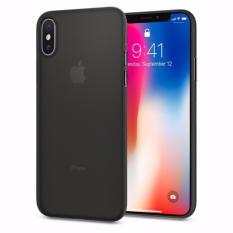 Spigen Iphone X Soft Case Thin Airskin Black Diskon Akhir Tahun