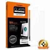 Beli Spigen Original Full Cover Tempered Glass For Iphone 7 Plus White Spigen Dengan Harga Terjangkau