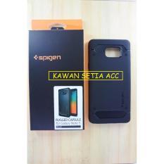 Diskon Spigen Rugged Armor Capsule Samsung Galaxy Note 5 Black Akhir Tahun
