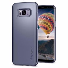 Spesifikasi Spigen Samsung Galaxy S8 S8 Plus 6 2 Case Thin Fit Gray Orchid Yang Bagus Dan Murah