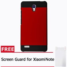 Beli Spigen Sgp Slim Armor Xiaomi Redmi Note Merah Free Screen Guard Terbaru
