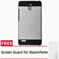 Toko Spigen Sgp Slim Armor Xiaomi Redmi Note Silver Free Screen Guard Lengkap Di Dki Jakarta