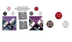 Harga Spigen Universal Aluminum Home Button For Iphone And Ipad Black Silver Pink Origin