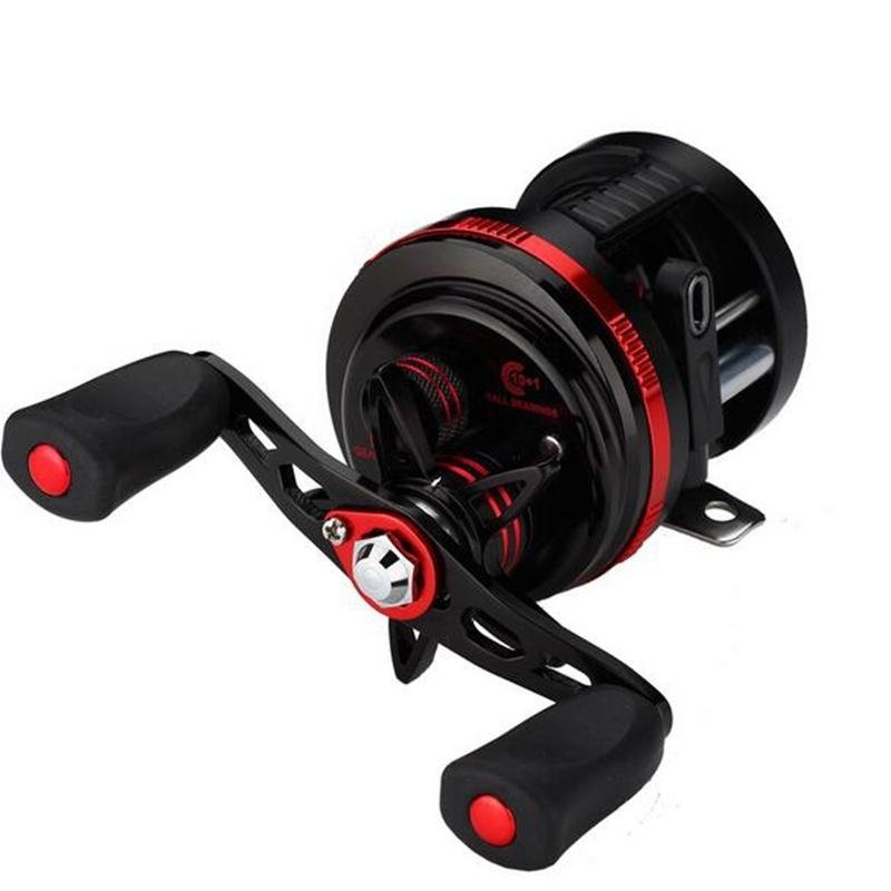 Harga Spinning Reel Carbon FiberᆪᆲDrag Kuningan Roda Gigi Komponen Stainless Steel De101 Left Magnetic Brake Drum Hitam Intl Seken