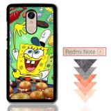 Harga Termurah Spongebob Squarepants Krabby Patty Z0046 Xiaomi Redmi Note 4 Note 4X Custom Case