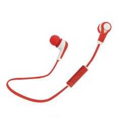 Beli Olahraga Bluetooth Headphon Merah Cicil