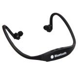 Toko Sport Nirkabel Bluetooth Headphone Stereo Headset Earphone Hitam Intl Vakind Tiongkok