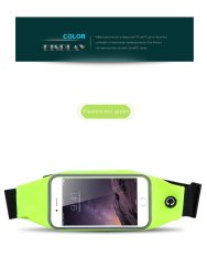 Sports Case Pouch For Acer Liquid Jade 2 case Universal Waist Phone Bag Waterproof For Acer Liquid Jade 2 - intl