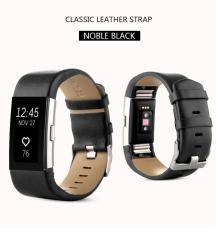 Jual Sports Genuine Leather Watch Band Tali Untuk Fitbit Charge 2 Wrist Band Gelang Intl Termurah