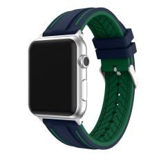 Olahraga Silikon Gelang Tali Band Untuk Apple Watch Series 1 2 42Mm Ag Intl Murah