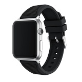 Diskon Produk Olahraga Silikon Gelang Tali Band Untuk Apple Watch Series 1 2 42Mm Bk Intl