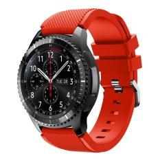 Olahraga Silikon Tali Jam untuk Samsung Galaxy Gear S3 Klasik SM-R770 S3 Frontier SM-R760 SM-R765 Smart Watch-Intl