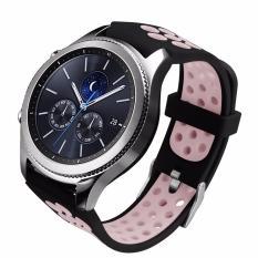 Beli Olahraga Tali Gelang Silikon Gelang Untuk Samsung Gear S3 Frontier Sm R760 Dan S3 Klasik Sm R770 Smart Watch Intl Kredit Hong Kong Sar Tiongkok