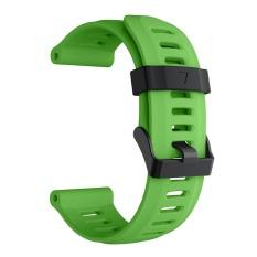 Beli Olahraga Soft Tali Pengganti Untuk Jam Tangan Tali Watchband Gelang Silikon Untuk Garmin Fenix5X Fenix 5X Aksesori Hijau Intl Thinch Online