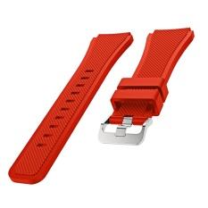 Olahraga Soft tali pengganti untuk jam tangan tali Watchband gelang silikon untuk Samsung Gear S3 Frontier