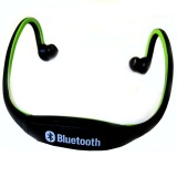 Toko Sports Wireless Bluetooth Headset Bth 404 Black Green Indonesia