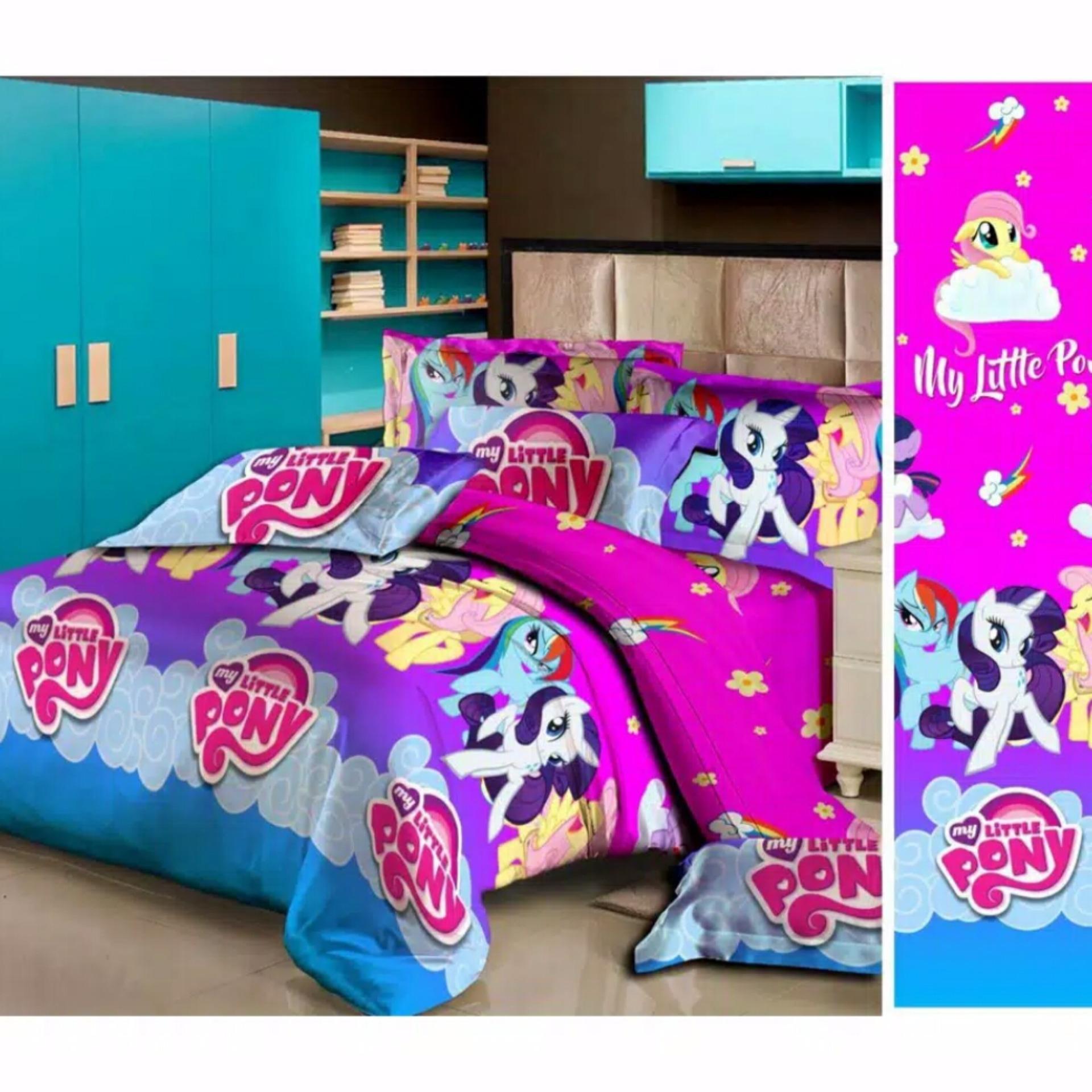 Sprei Fata Single 120 X 200 Little Pony Jawa Tengah